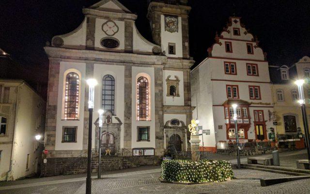 Hachenburg Brunnen Innenstadt
